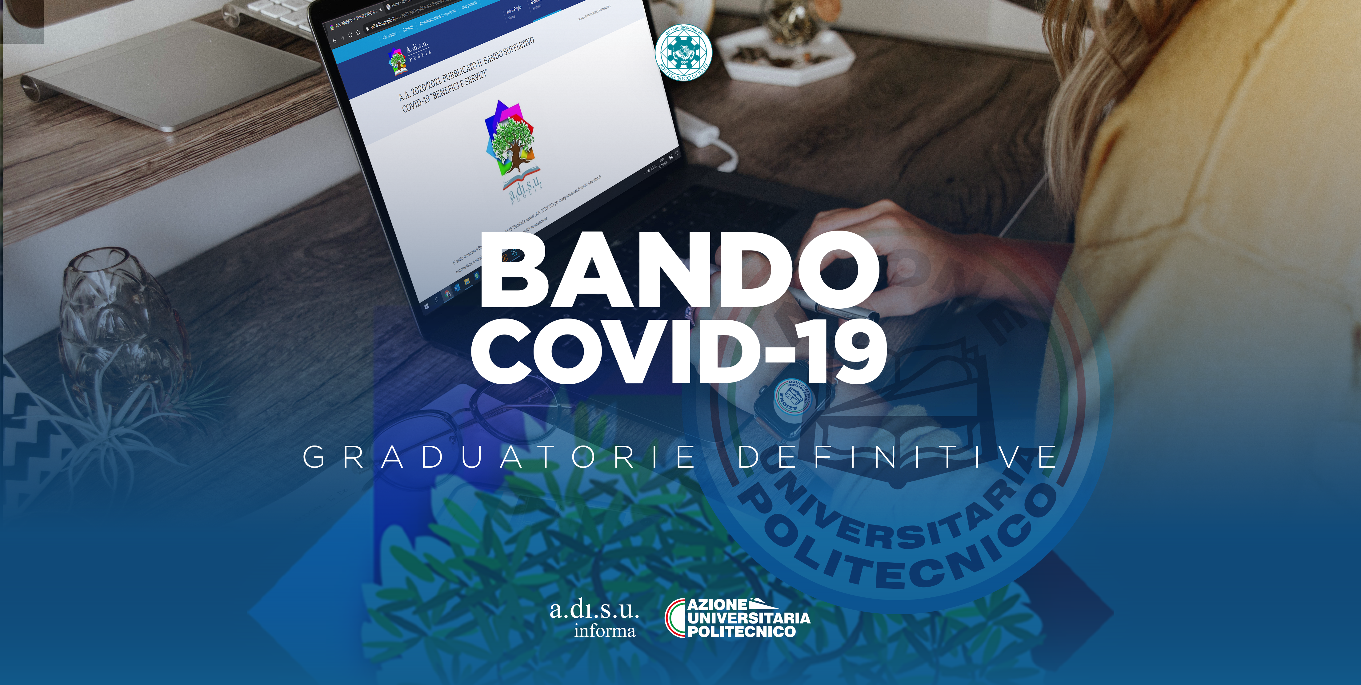 BANDO SUPPLETIVO COVID-19 - GRADUATORIE DEFINITIVE